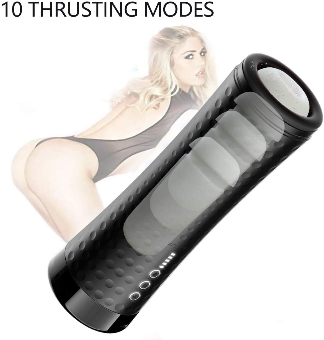 Automatic Male Masturbator With 10 Vibration Modes