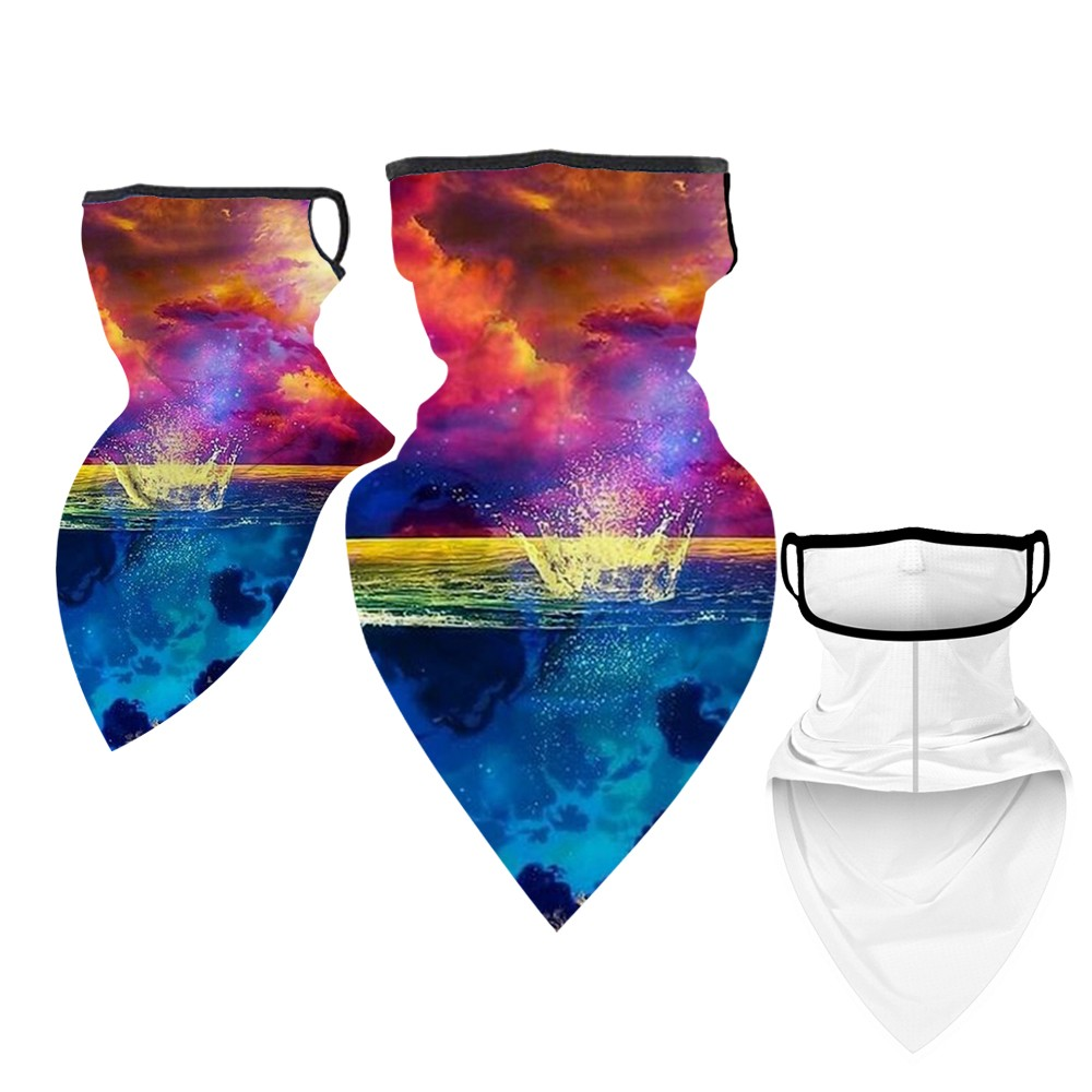 Outdoor Mask Triangle Headband